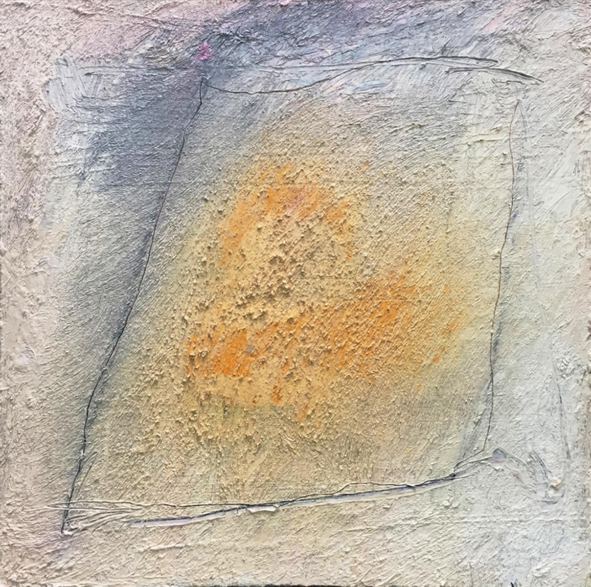 MARC FELD 2017 TÉLÉMAQUE Huile, pigment et acrylique sur toile 100 x 100 cm