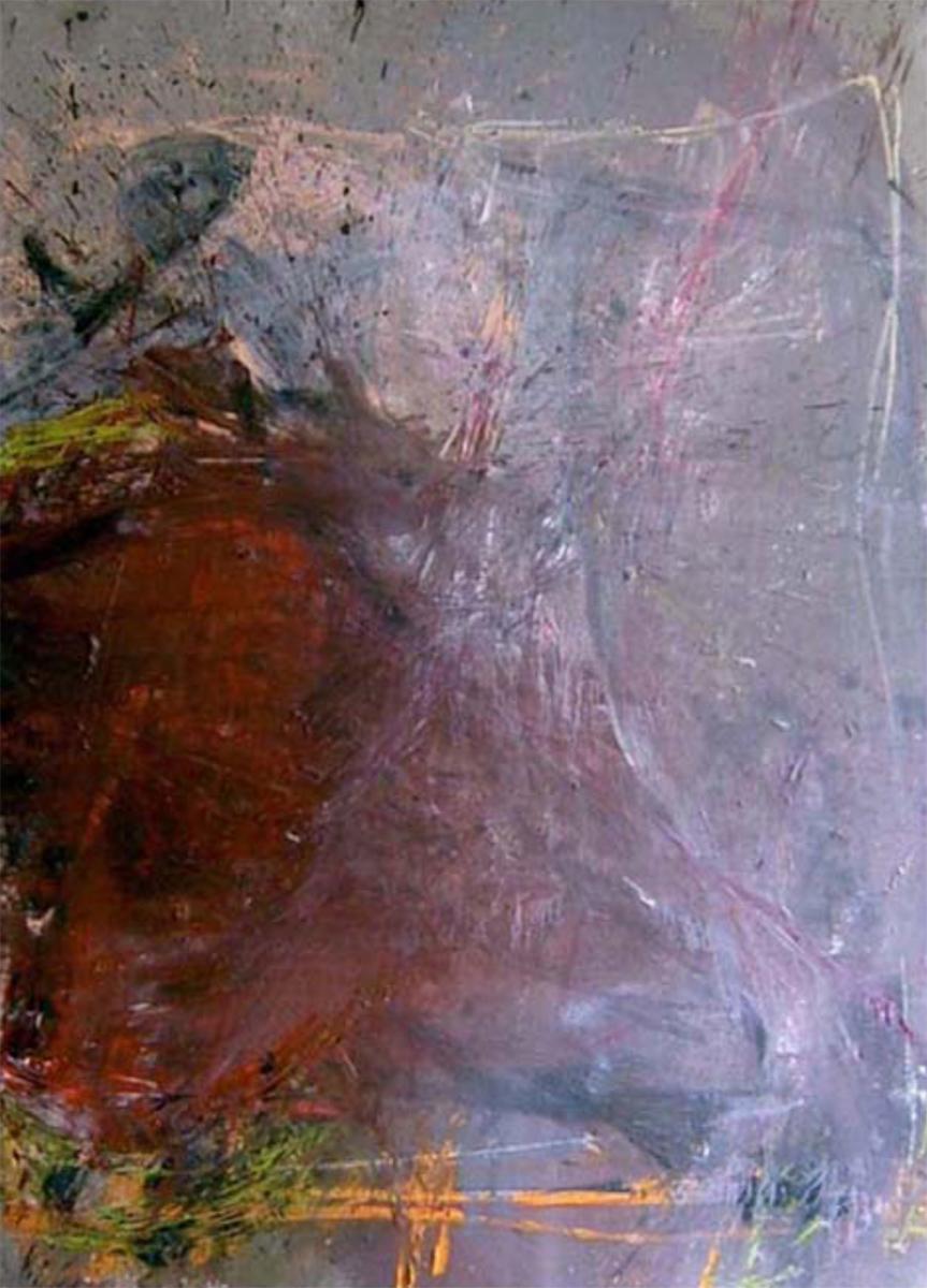 MARC FELD 2007 AU VIF DU MONDE 5 Huile sur toile 150 x 200 cm