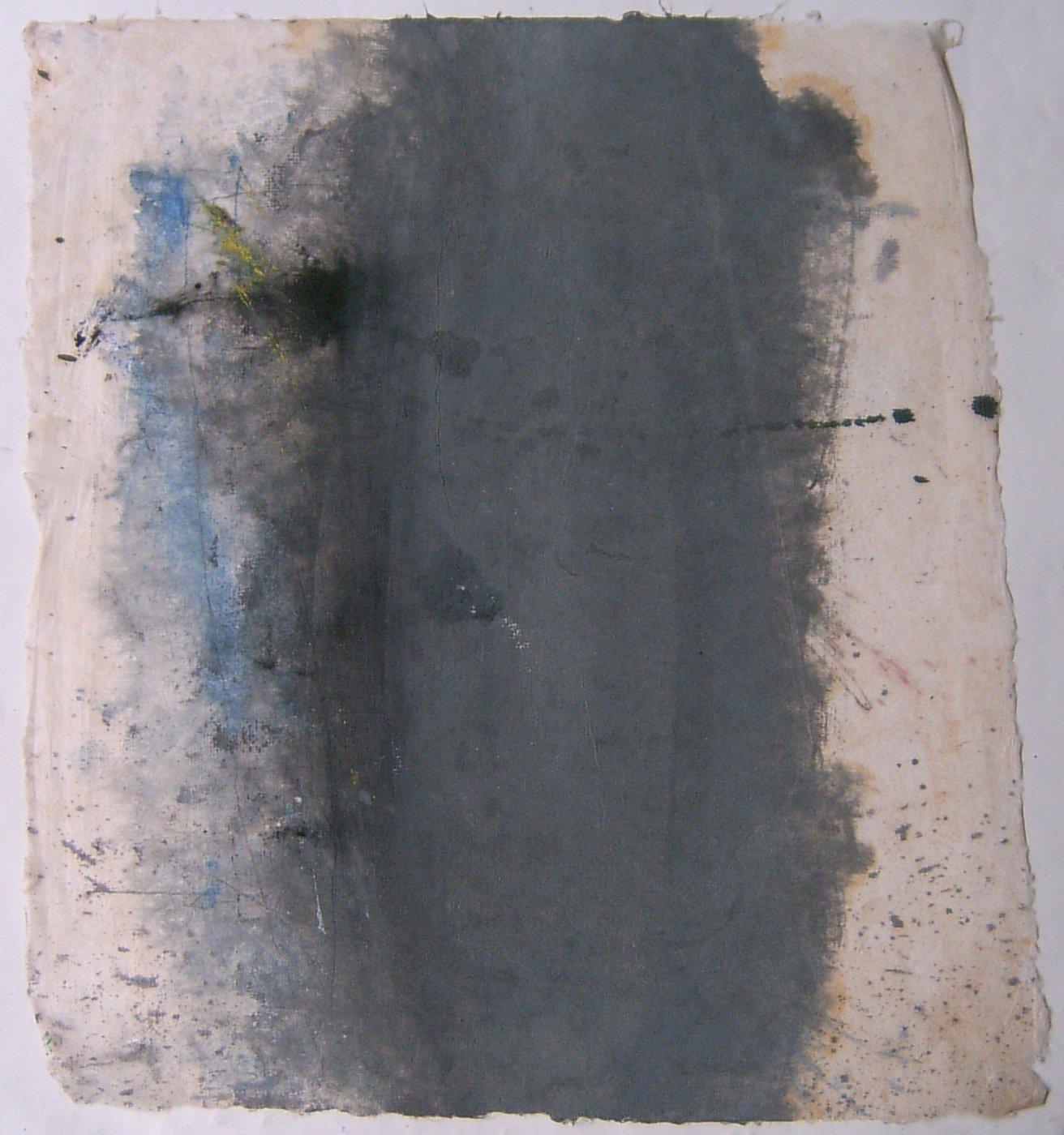 MARC FELD 2008 SYLLABE Huile sur papier  37 x 44 cm