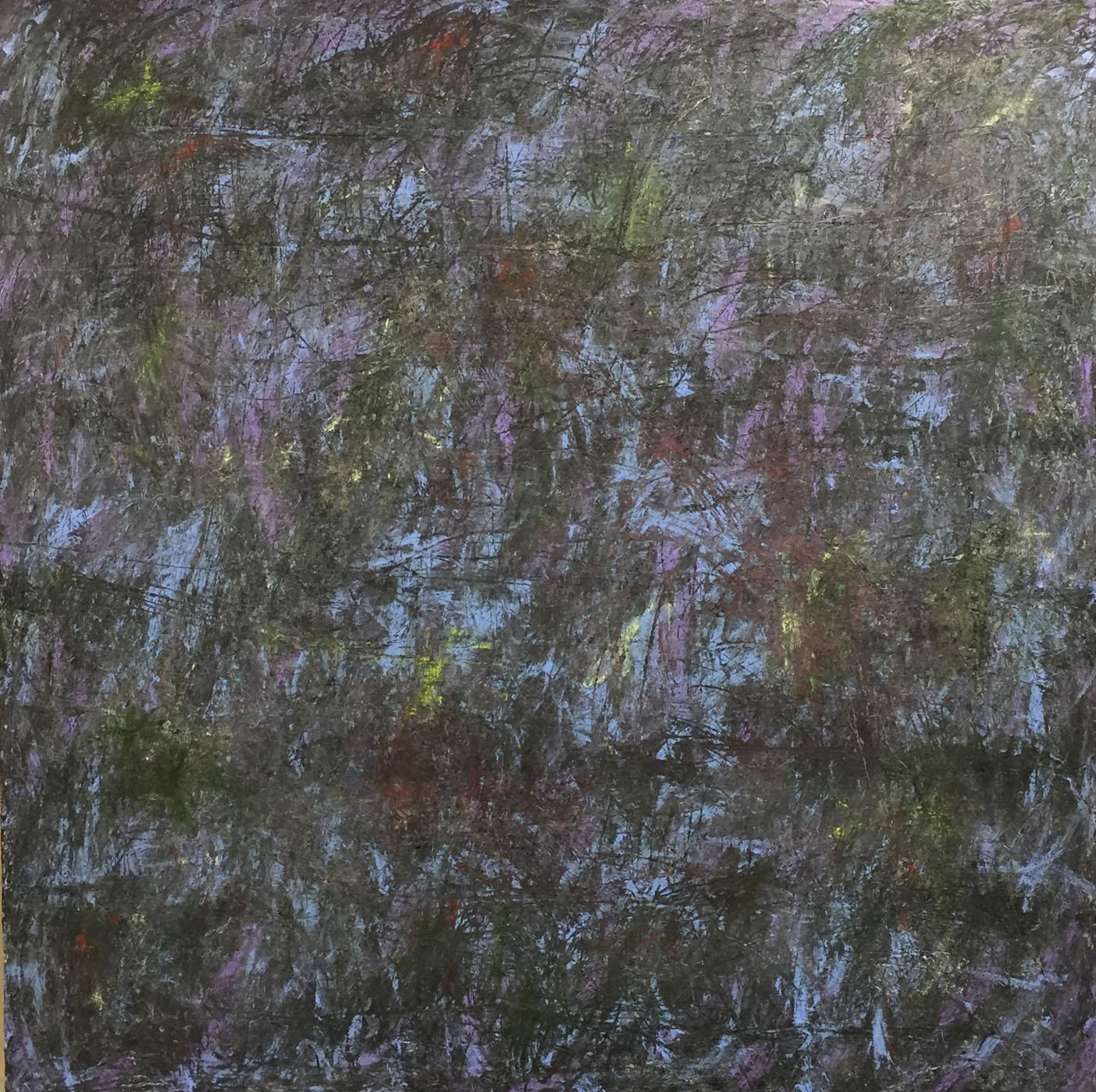 MARC FELD 2018 ÉPOPÉE Huile et acrylique sur toile 160 x 160 cm