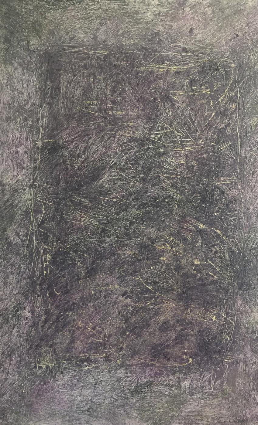 MARC FELD 2017 FRACTALE 116 x 73 cm Huile et acrylique sur toile