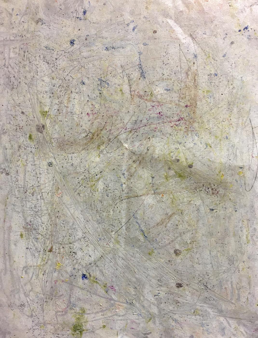MARC FELD 2019 ALLEGRIA 2 Huile et acrylique sur papier 50 x 65 cm