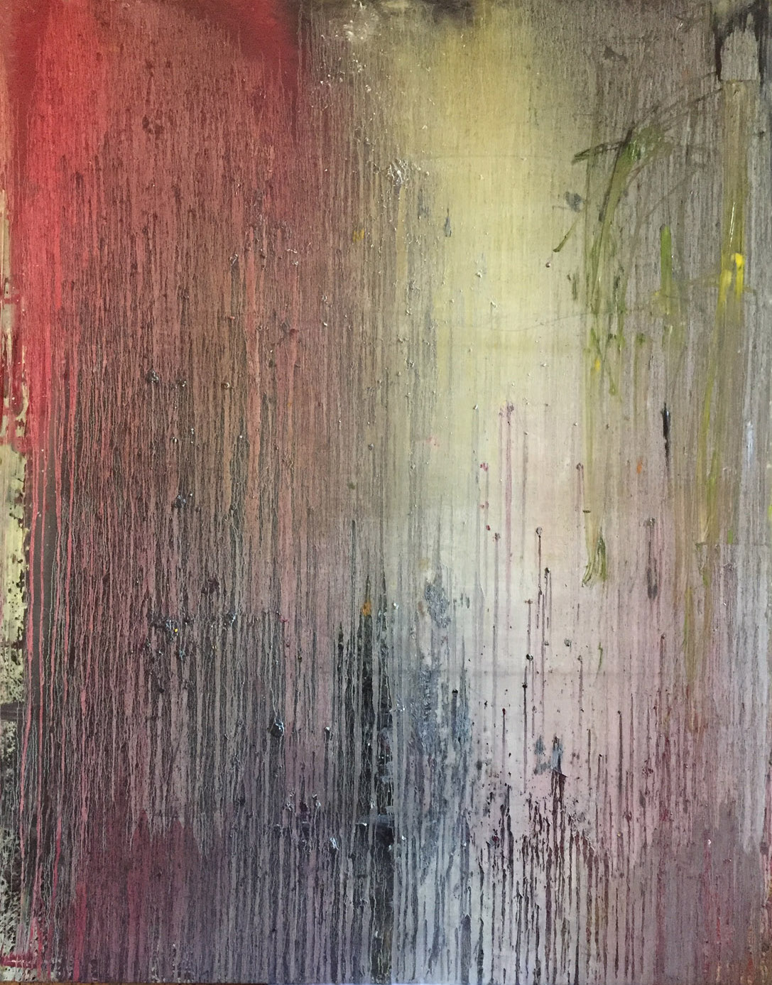 MARC FELD 2020 DICKINSON Huile sur toile 160 x 200 cm