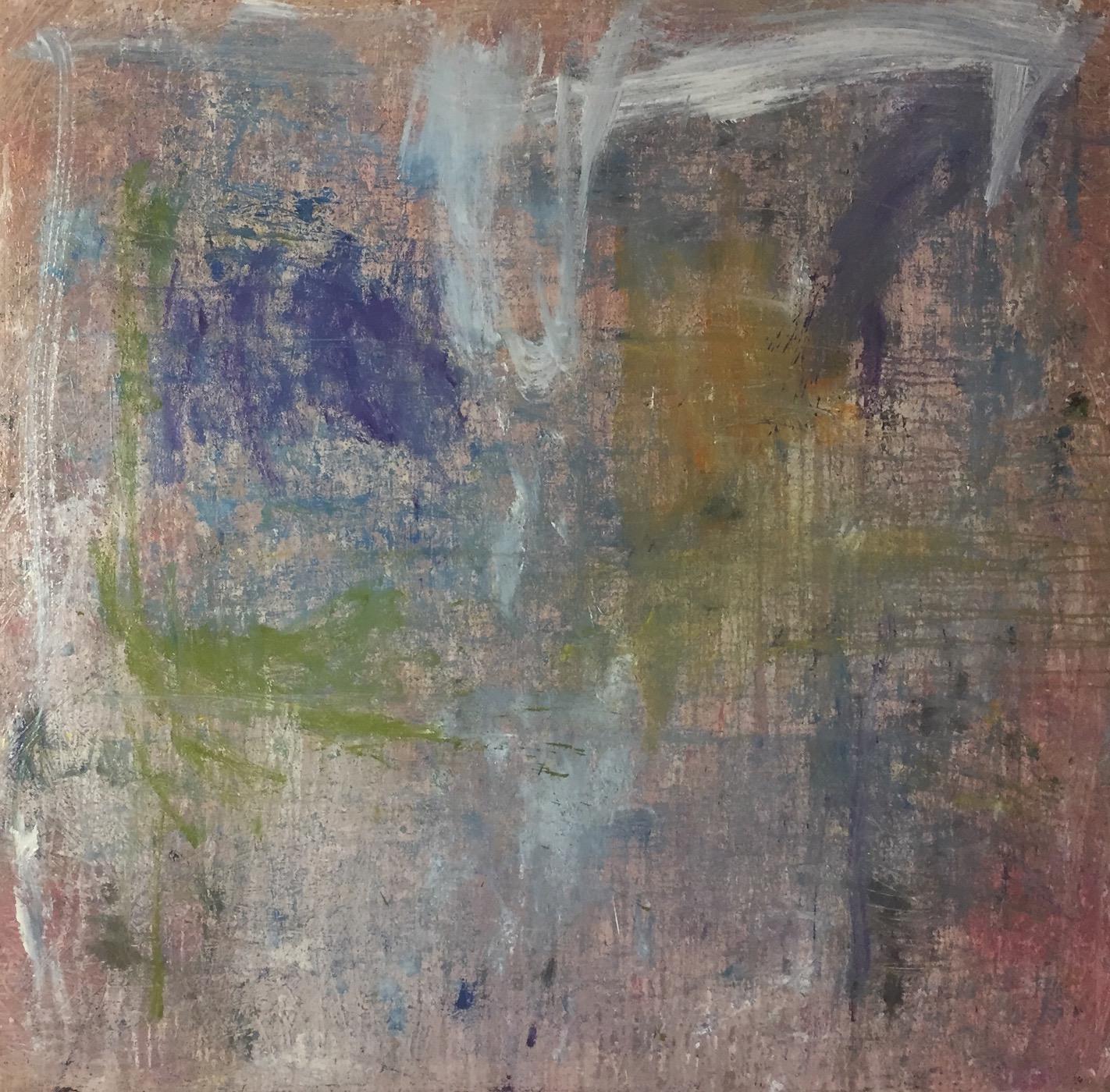 MARC FELD 2020 LISTENING TO DIZZY Huile et acrylique sur toile 150 x 150 cm