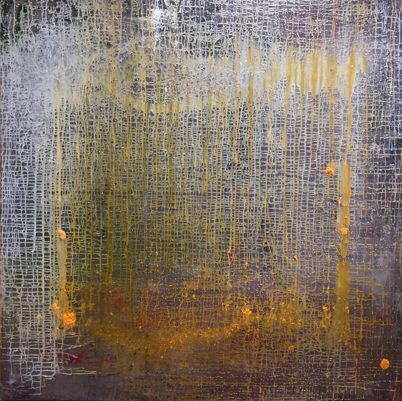 MARC FELD 2020 BALLAST Huile et acrylique sur toile 150 x 150 cm