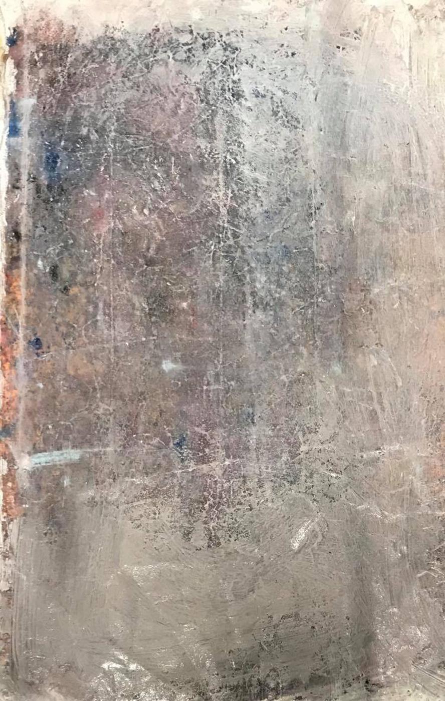 MARC FELD 2020 À PEINE Huile sur papier 100 x 65 cm