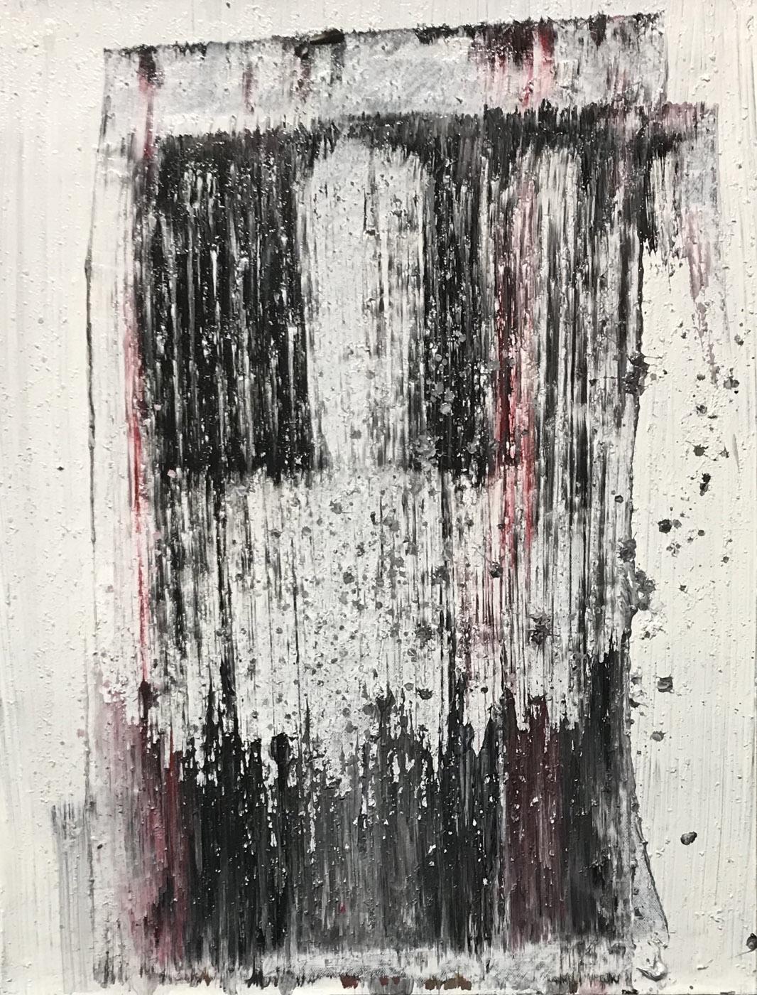 MARC FELD 2020 DE SABLE Huile sur papier marouflé sur toile 50 x 65 cm