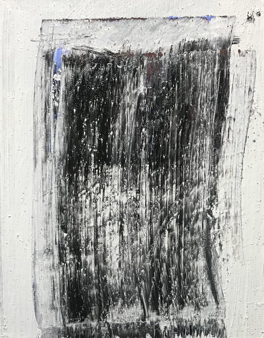 MARC FELD 2020 POUR RESSURGIR Huile sur papier marouflé sur toile 50 x 65 cm