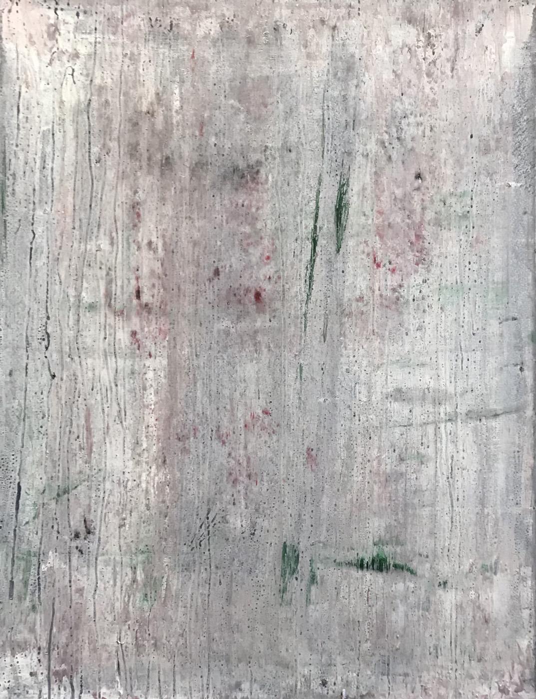 MARC FELD 2020 PURCELL Huile sur papier marouflé sur toile 50 x 65 cm