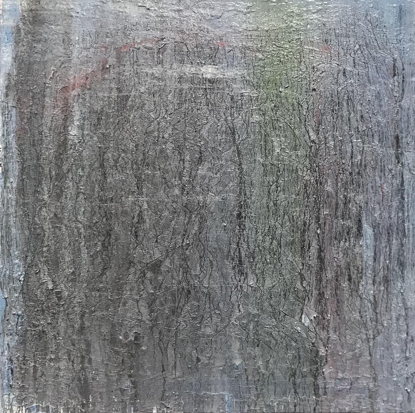 MARC FELD 2021 LABOUR Huile sur toile 100 x 100 cm