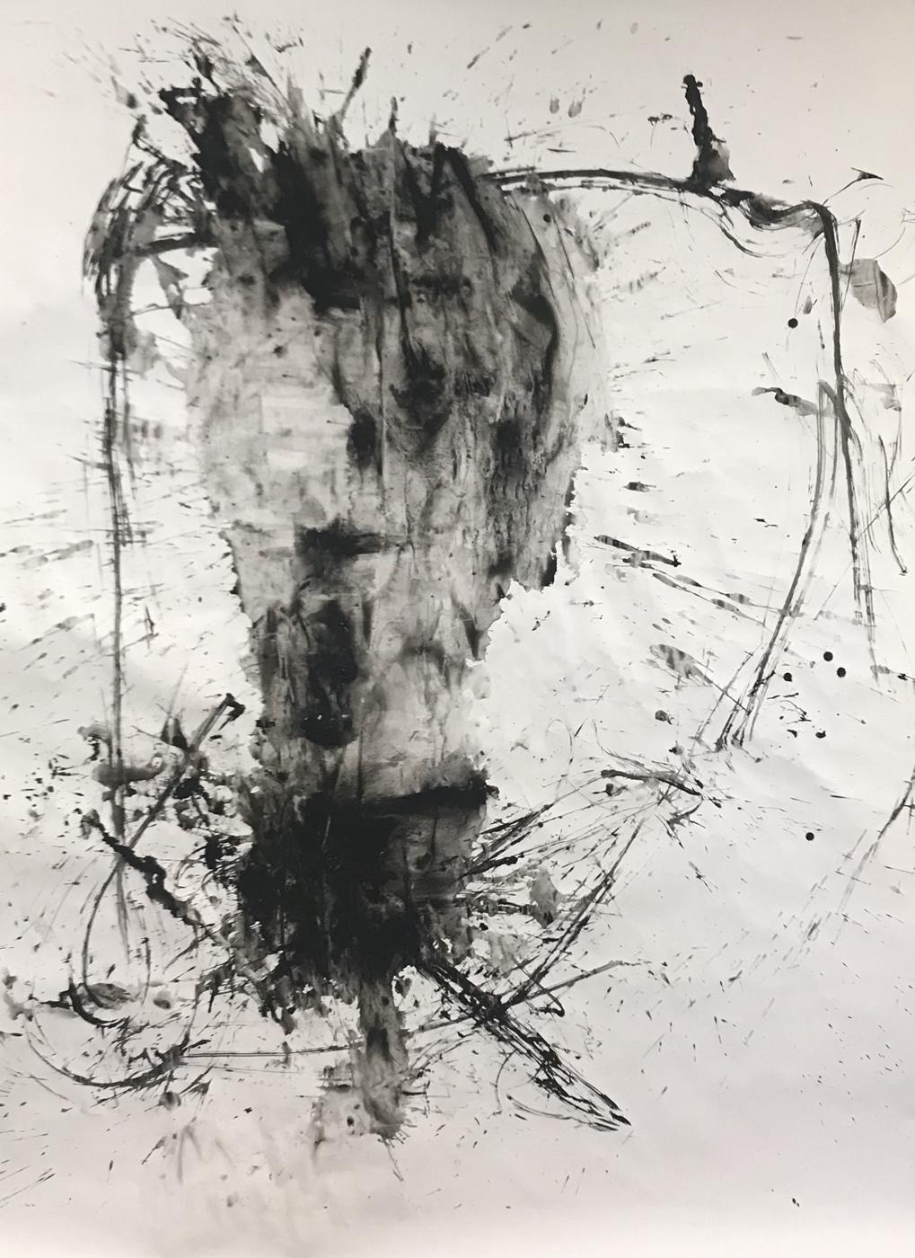 MARC FELD 2021 LÀ Gouache sur papier 150 x 200 cm