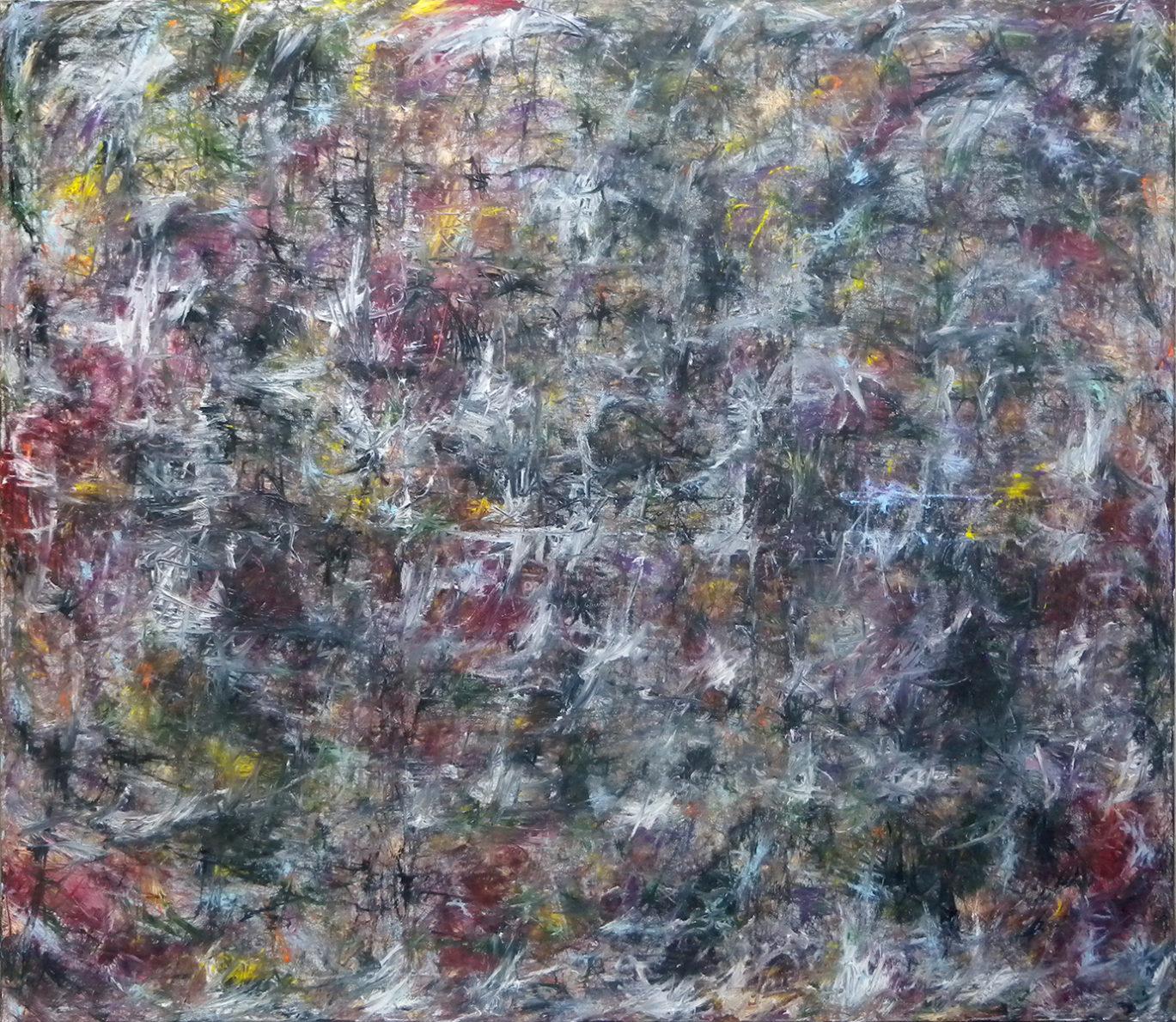 MARC FELD 2012 FANFARE FRAGILE 1   Huile sur toile  200 x 230 cm