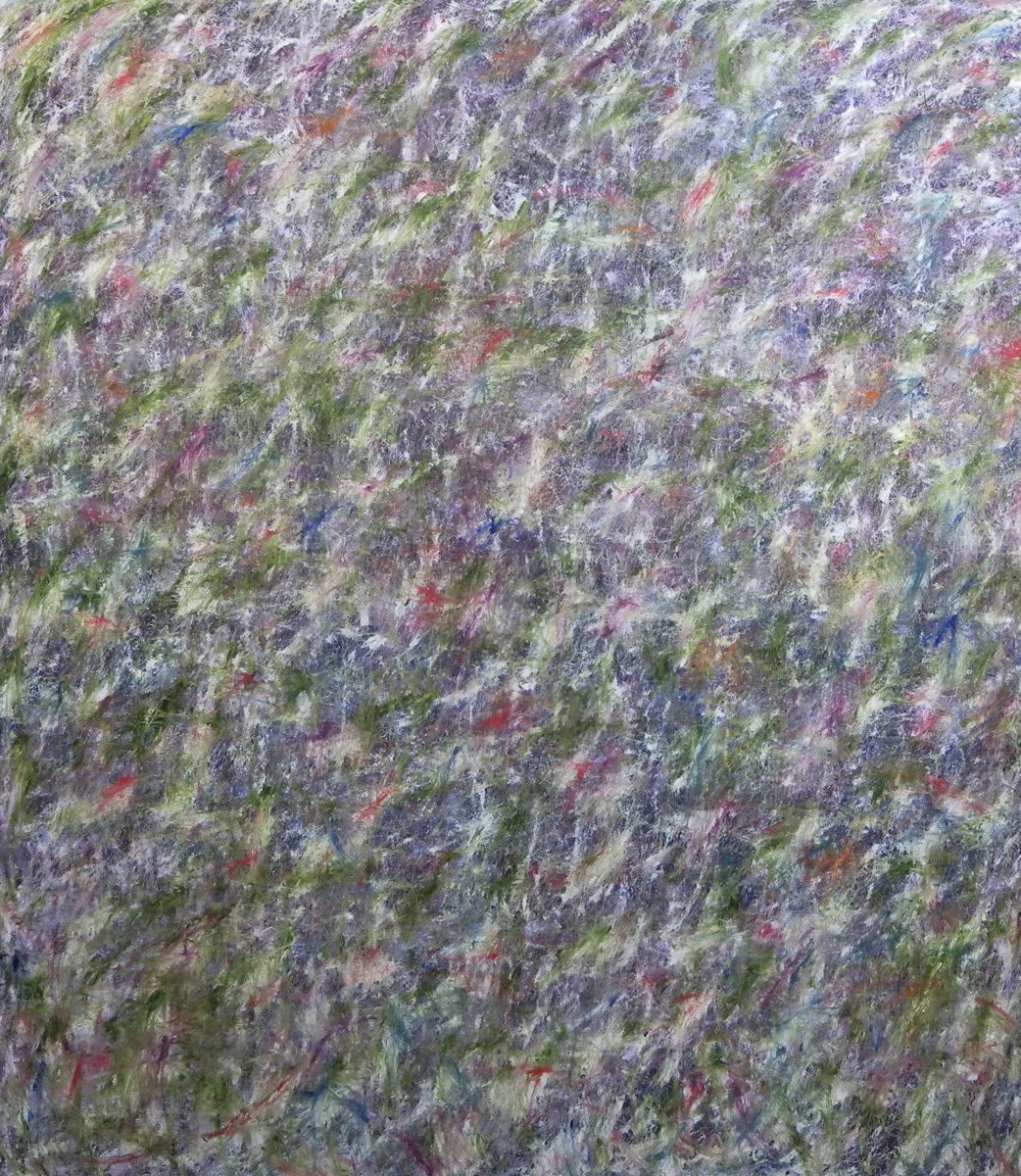 MARC FELD 2012 FANFARE FRAGILE 4  Huile sur toile  200 x 230 cm