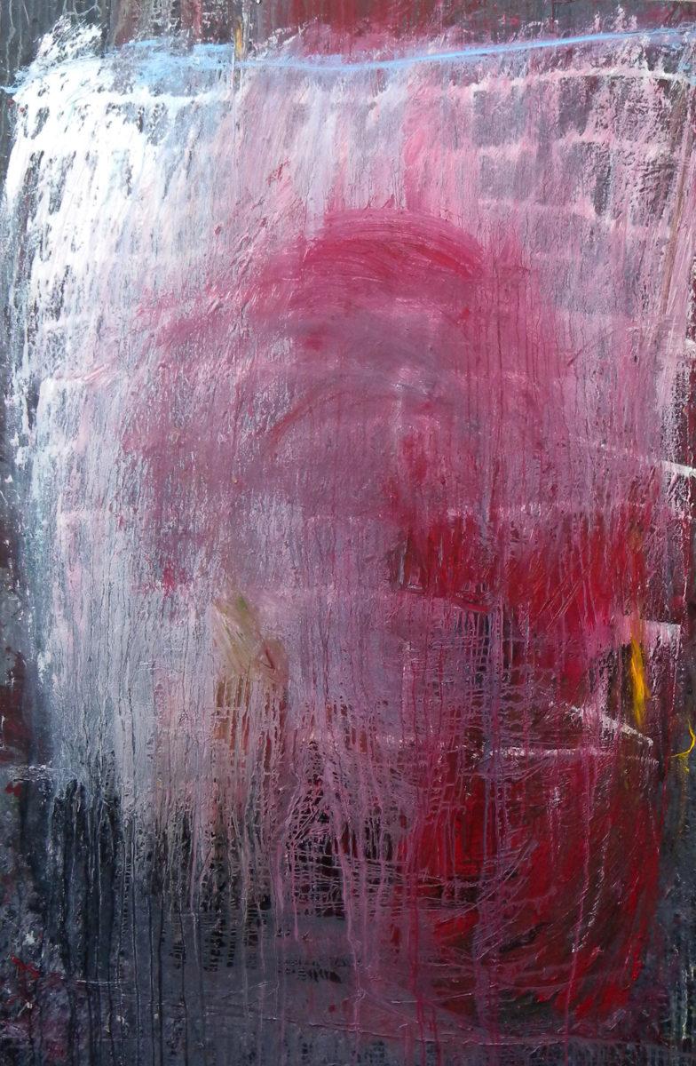 MARC FELD 2012  SANS TITRE  Huile sur toile 140 x 210 cm