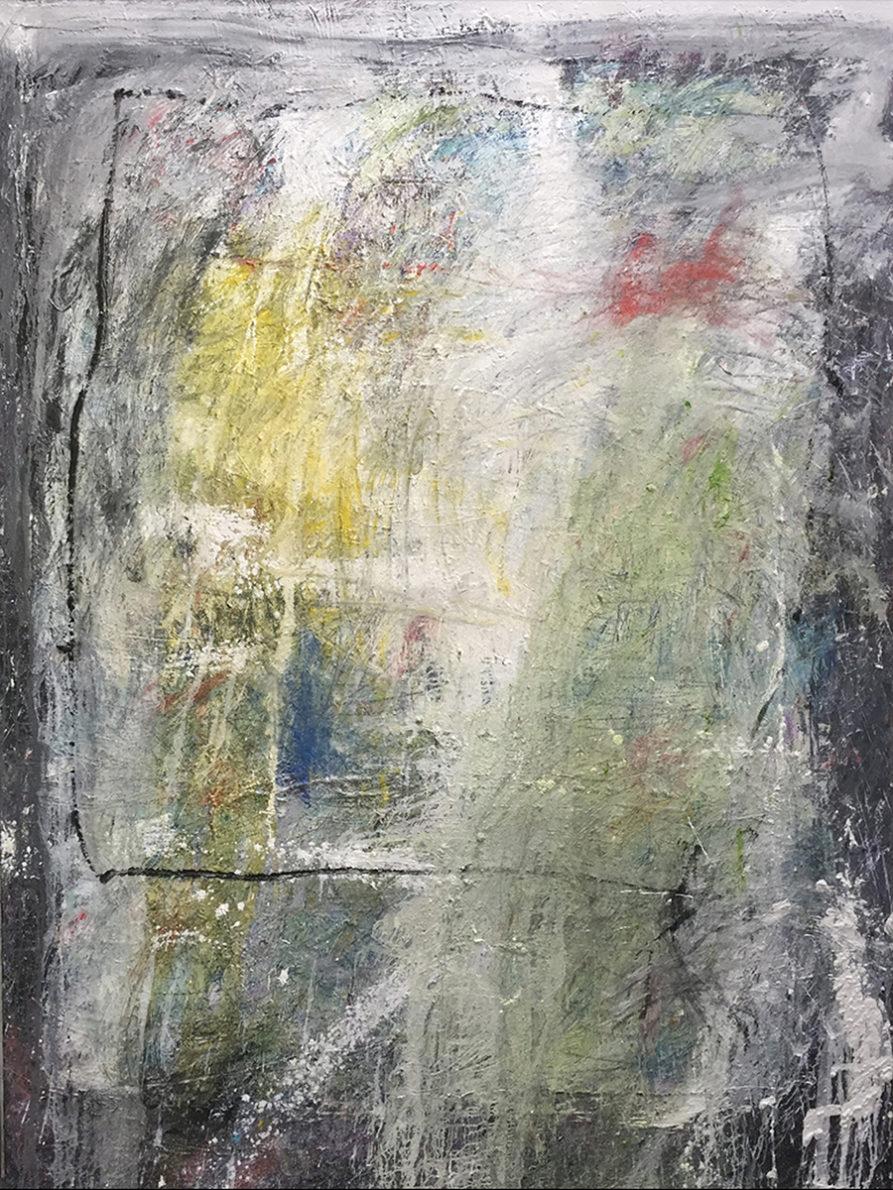 MARC FELD 2017 HORS CHAMPS Huile et acrylique sur toile 150 x 200 cm