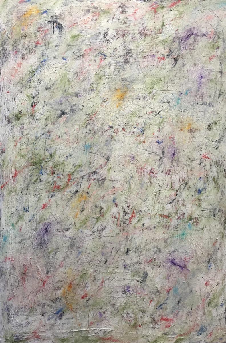 MARC FELD 2017 MANOUCHES 140 x 210 cm Huile et acrylique sur toile