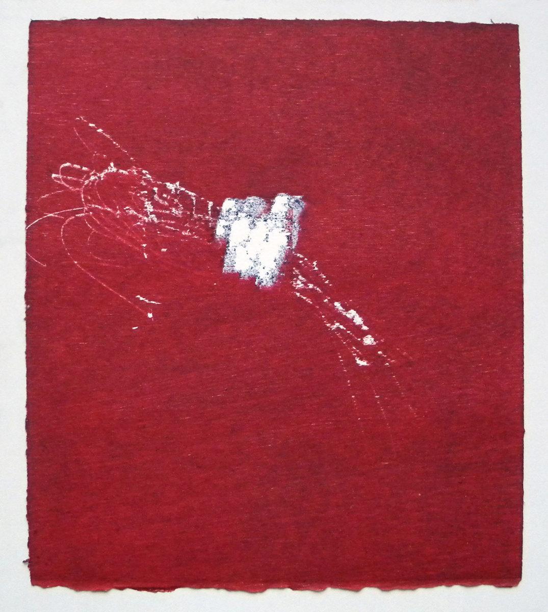 MARC FELD 2012 SONG FOR STEVE LACY 10 Gravure sur bois encre sur papier 25 x 26 cm (Tirage Patrick Vernet)