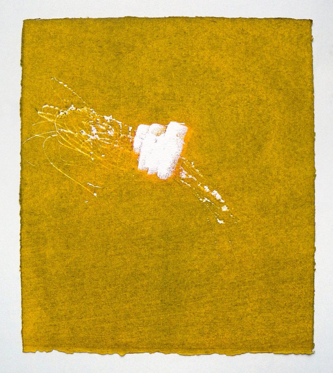 MARC FELD 2012 SONG FOR STEVE LACY 8 Gravure sur bois encre sur papier 25 x 26 cm (Tirage Patrick Vernet)