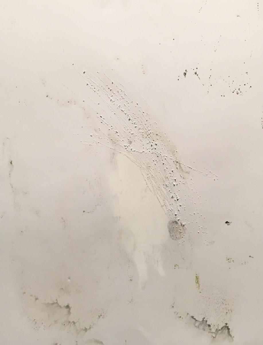 MARC FELD 2016 SÉJOUR Gouache et eau de javel sur papier 50 x 65 cm
