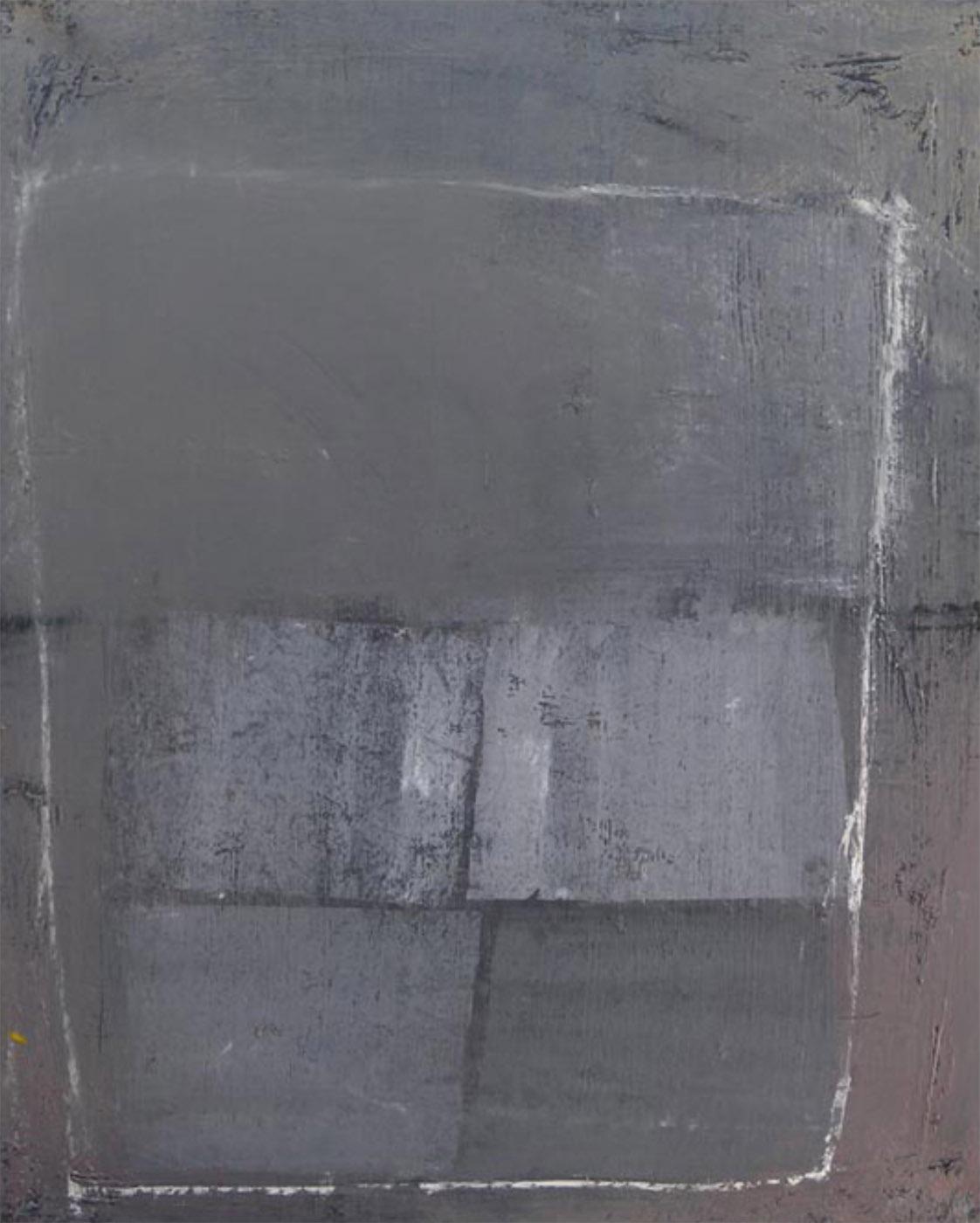 MARC FELD 1992 AMPLITUDE Huile sur toile 100 x 81 cm