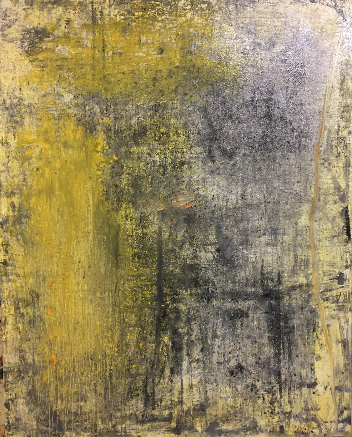 MARC FELD 2020 DÉCANTATION Huile, acrylique et mine de plomb sur toile 160 x 200 cm