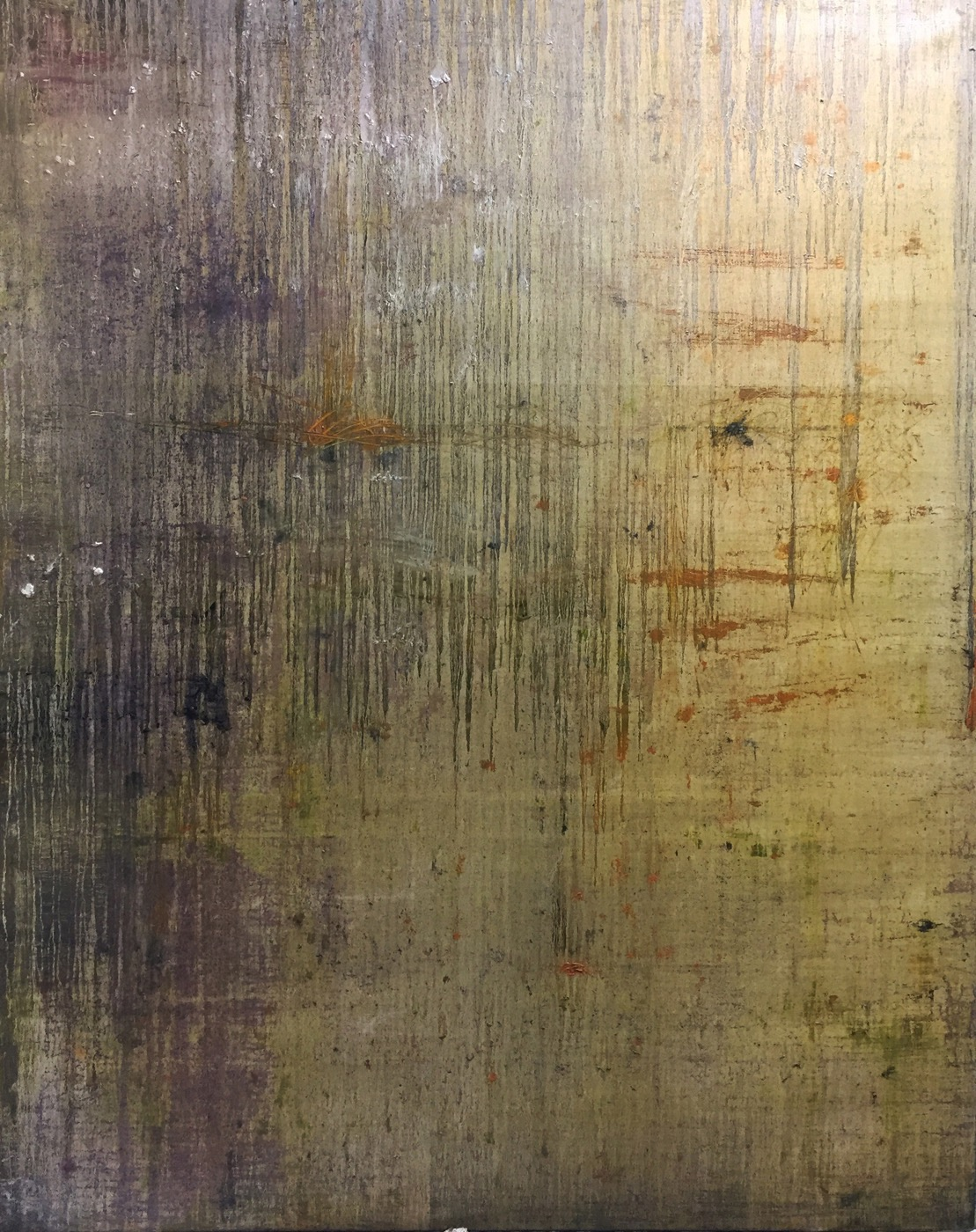 MARC FELD 2020 LIEU Huile et acrylique sur toile 160 x 200 cm