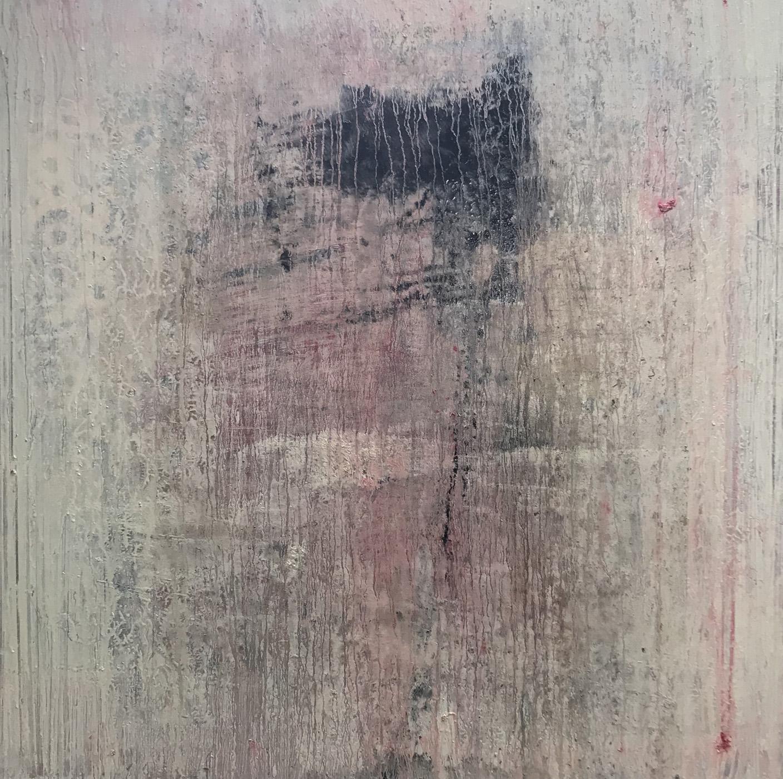 MARC FELD 2020 TRAITS RIDÉS Huile sur toile 100 x 100 cm