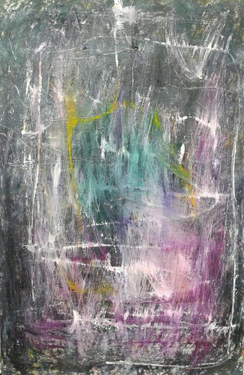 MARC FELD 2015 SONG FOR CHARLIE PARKER 210 x 140 cm Huile et acrylique sur toile