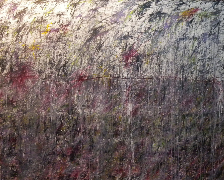 MARC FELD 2015 SWING Huile et acrylique sur toile 250 x 200 cm