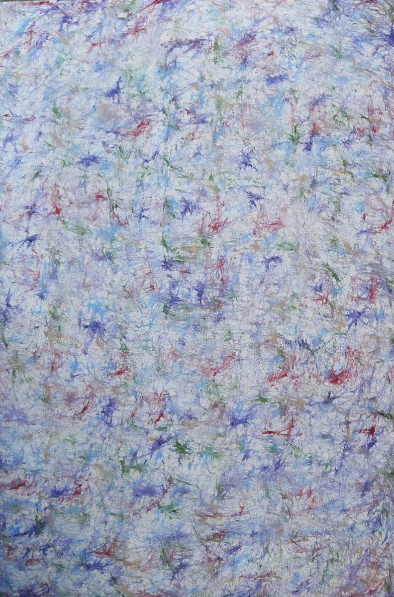 MARC FELD 2012 FANFARE FRAGILE 2  Huile sur toile  140 x 210 cm