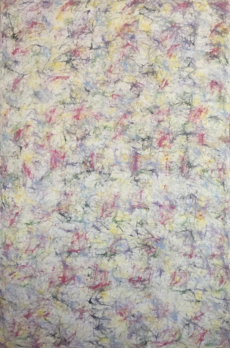 MARC FELD 2012 FANFARE FRAGILE 3  Huile sur toile 140 x 210 cm