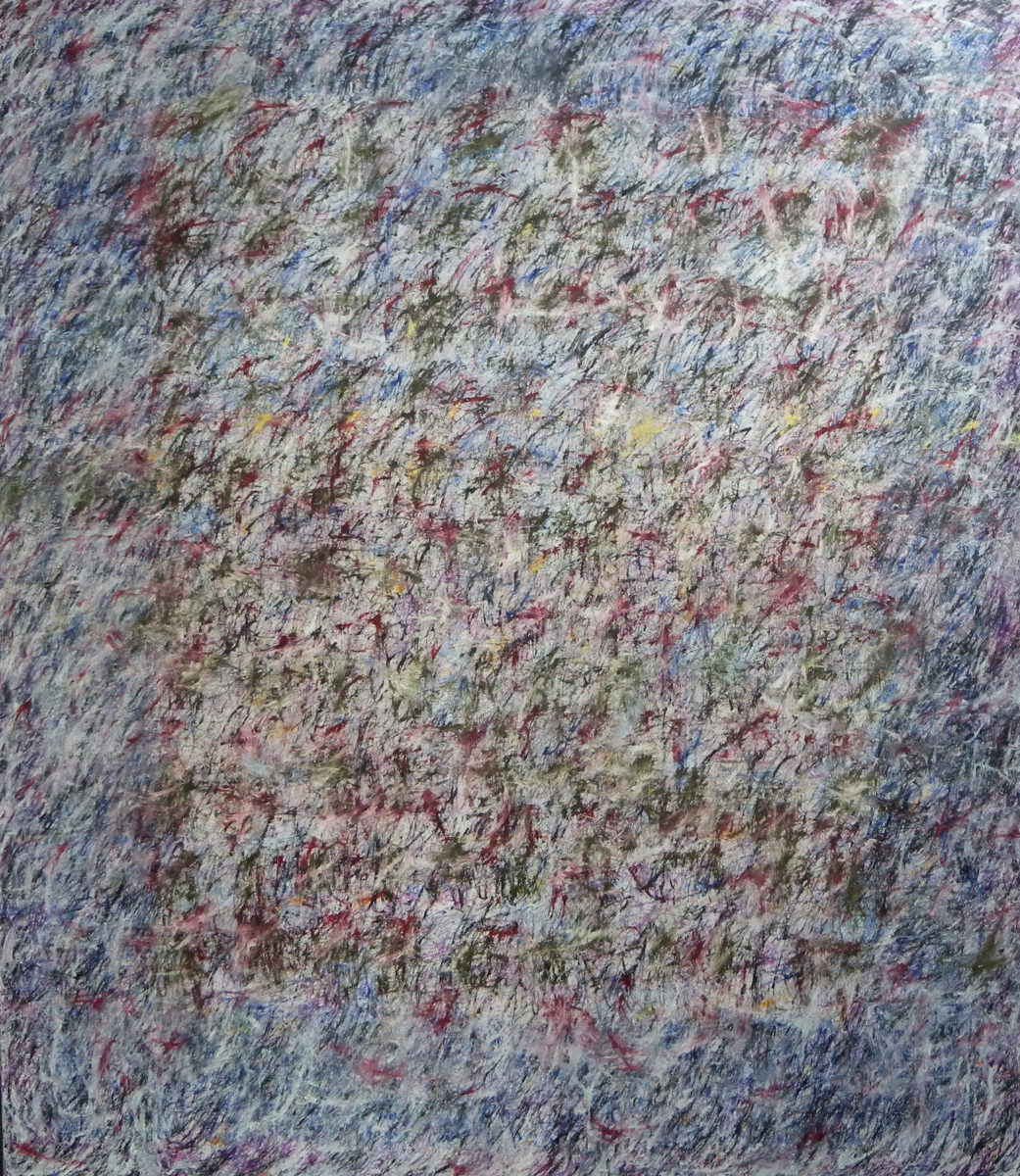 MARC FELD 2012 FANFARE FRAGILE 5  Huile sur toile  200 x 230 cm