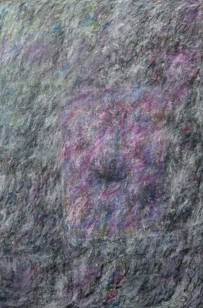 MARC FELD 2012 FANFARE FRAGILE 9 Huile sur toile  140 x 210 cm