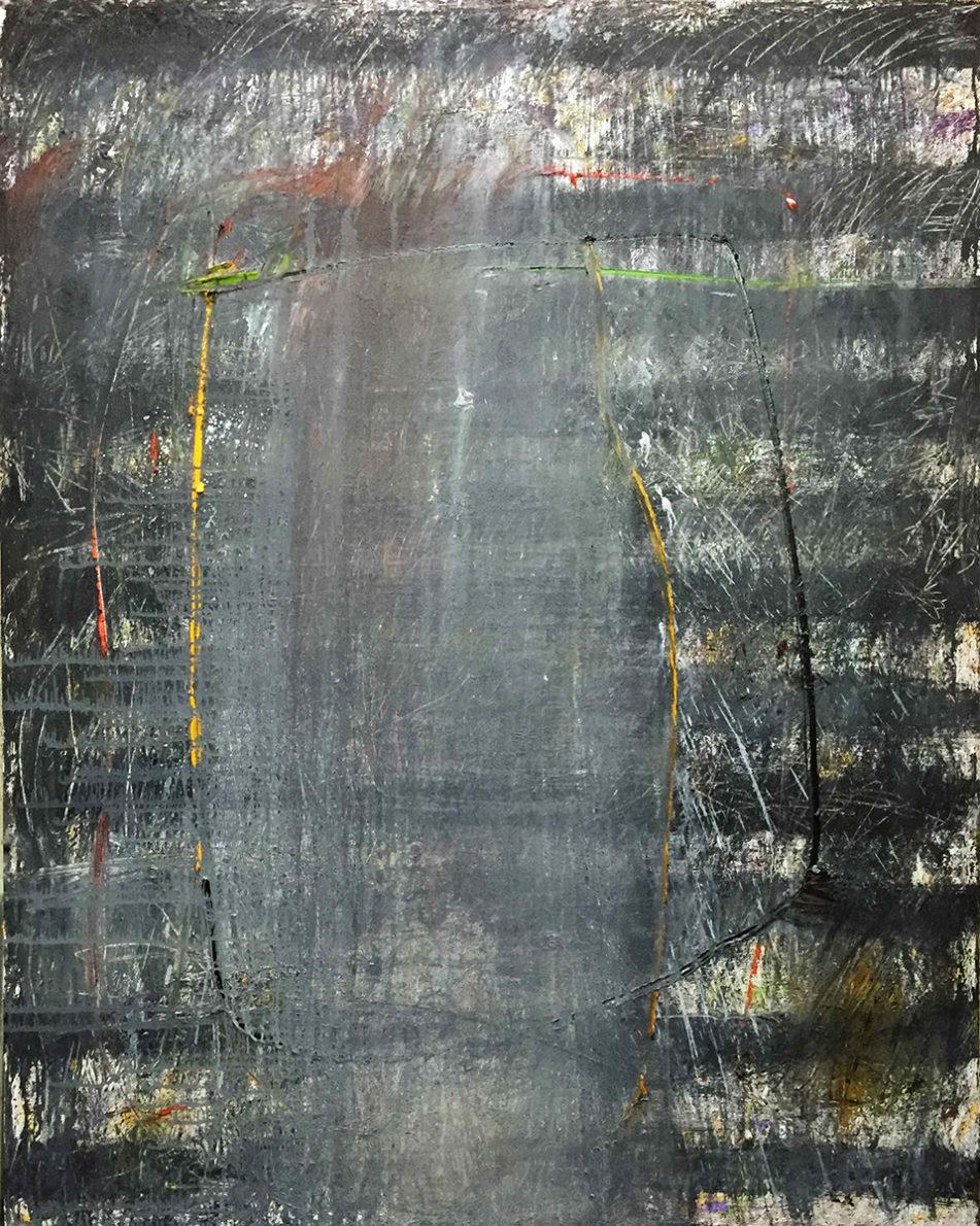 MARC FELD 2016 PARTITION Huile et acrylique sur toile 160 x 200 cm