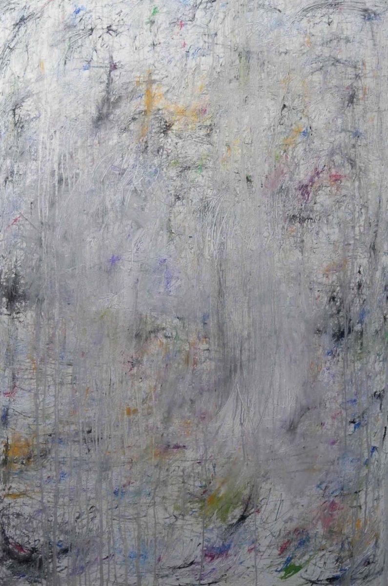 MARC FELD 2016 SONG FOR ORNETTE Huile et acrylique sur toile 140 x 210 cm