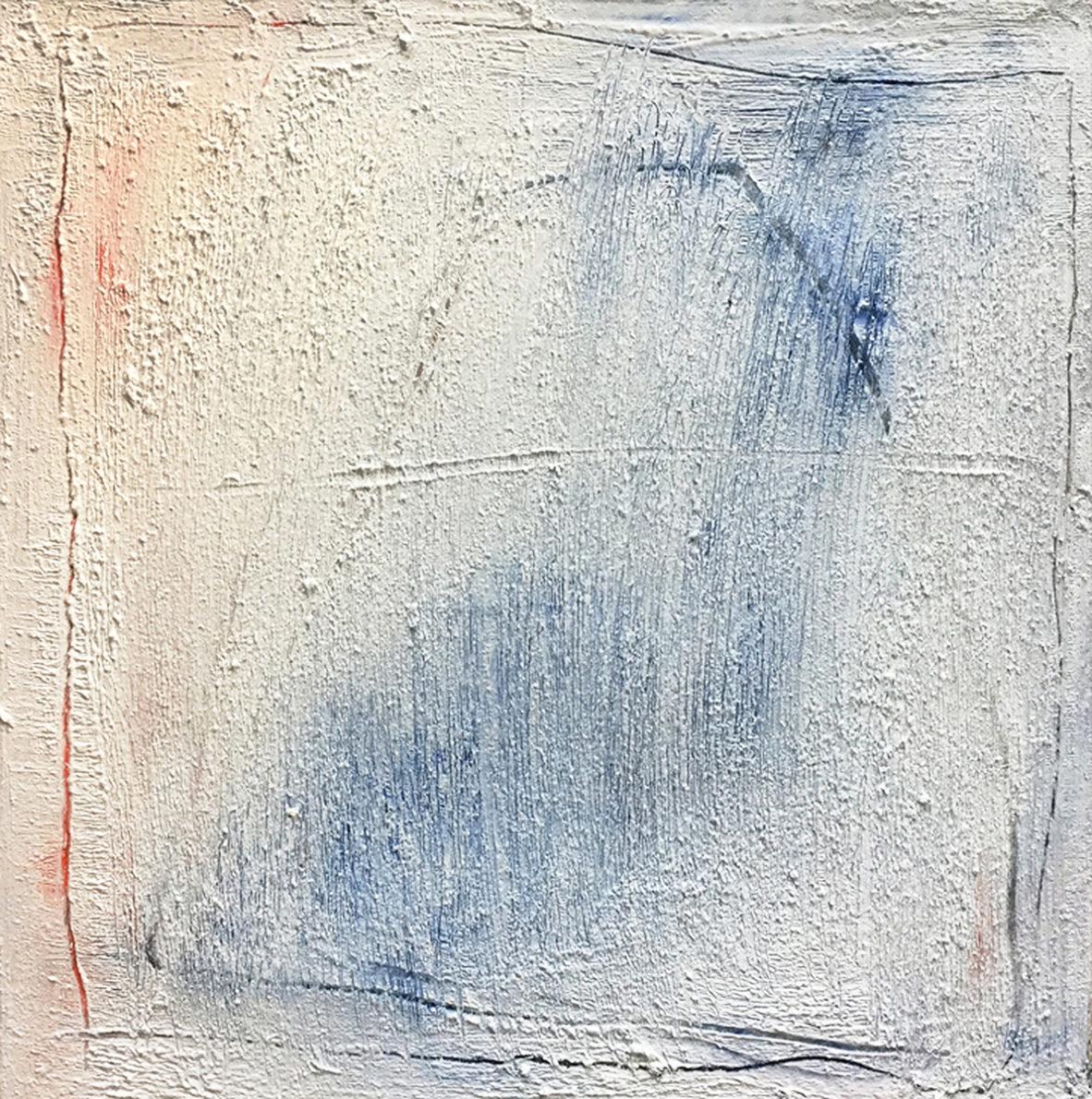 MARC FELD 2017 ALEPH Huile, pigment et acrylique sur toile 60 x 60 cm