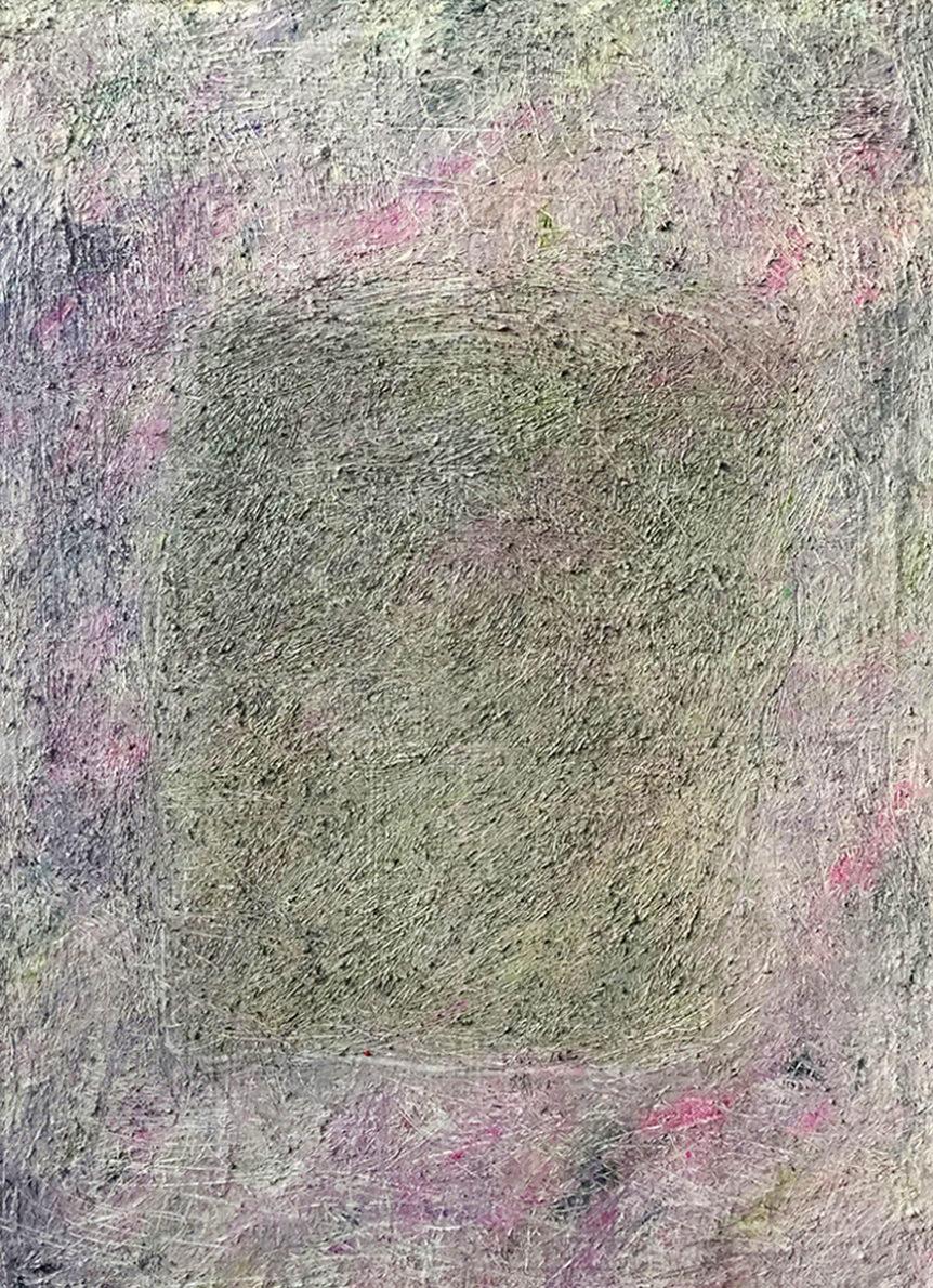 MARC FELD 2017 MANDALA Huile et acrylique sur toile 92 x 65 cm